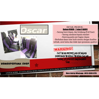Bahan OSCAR Sarung Jok 3 & 2 Baris Mobil Ayla Agya Jazz Sirion dll