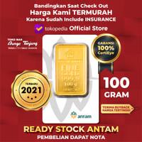 READY STOCK logam mulia ANTAM 2019 - 100 gram