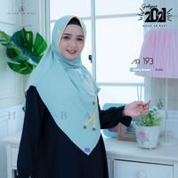 Hijab Jilbab Arrafi Bergo Daily Instant Antem Eskudo Ar Rafi AR 193 - baby green