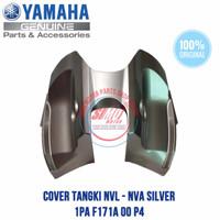 COVER DEK TUTUP TANGKI VIXION NEW NVL NVA ORI 1PA F171A 00 P4 SILVER