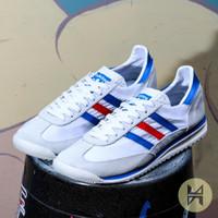 Sepatu Pria Adidas SL 72 Trainers White France Original