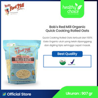 Bob's Red Mill Organic Quick Cooking Rolled Oats 907 gr