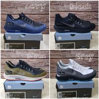 Nike Air Zoom Pegasus 35 Shield Blue Navy Sepatu Lari Casual Pria