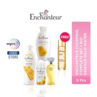 Enchanteur Charming Complete Set + Bio Essence Gold Water