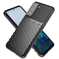 Armor Line TPU Case Samsung Galaxy S21 Plus - Casing Black Soft Cover