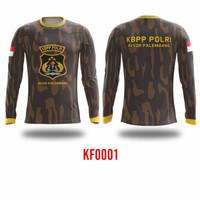 Kaos baju Jersey sepeda gowes mania KBPP POLRI KF0001