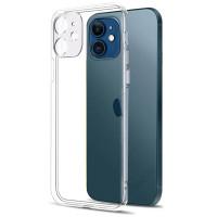 Slim II TPU Case iPhone 12 6.1 - Camera Clear Soft Cover Casing Fit