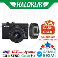 Cashback Canon EOS M200 Kit 15-45mm + 22mm Mirrorless Kamera