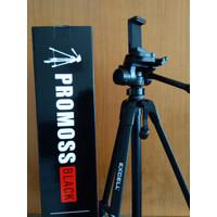 Tripod Excell Promoss Hitam Kamera DSLR Pocket Prosumer