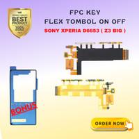 FPC KEY ON OFF/ POWER KEY VOLUME flexible D6653 / Sony Xperia Z3 D6653
