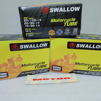 Ban Dalam Dalem Swallow Motorcycle Tube Uk 60-90-14