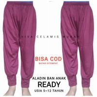 Celana ALADIN BAN Anak 5-12 THN/Aladin Murah/Celana Tidur Adem Nyaman