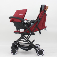Stroller Babydoes Driver TS Travel System Cabin Size Plus Carseat 2218