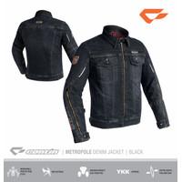Continmoto METROPOLE Denim Black | Contin METROPOLE | Jaket Motor - S