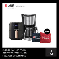 [PO] RH 5L Brooklyn Air Fryer - Compact Coffee Maker - Reusable Bag