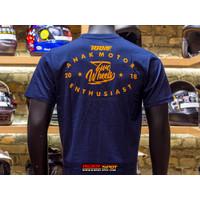 RRMF T-Shirt Anak Motor Enthusiast Two Wheels Kaos Distro Baju Pria