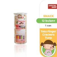 Pureeland Baby Crackers Tuna Finger / MPASI Bayi Organik / Makanan Bay