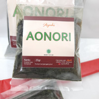 Bubuk Nori Aonori 25gr, Ketetapan Halal MUI Certified