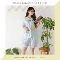 Baju Tidur Piyama Wanita Organic Silk GREET T-051 HK
