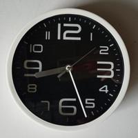 Jam Dinding L26 Putih fancy 4