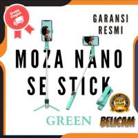 MOZA Nano SE Selfie Stick Gimbal Extendable Smartphone Gimbal - Green