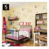 Wallpaper Sticker C130 - C134 cute - wallpaper dinding motif anak