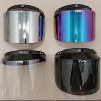 Kaca / Visor Flat Datar Helm BOGO, JPN, CARGLOS, Dll. Merk INJAK