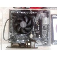 Asrock A320M HDV Feat AMD Ryzen 3 2200G