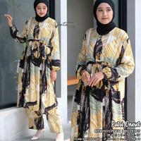 Baju setelan wanita putri one set jumbo muslim jumbo modern
