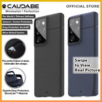 Caudabe Sheath Case Samsung Galaxy S21 Ultra 5G Softcase Soft Casing
