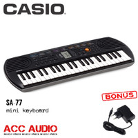 Keyboard Mini CASIO SA-77 / SA77 + adaptor