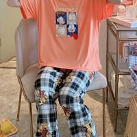 Piyama 548 Import Baju Tidur Panjang Anak Perempuan Remaja Wanita