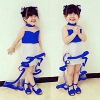 Baju Gaun Dress dres Pesta anak perempuan cewek 2 3 4 tahun kekinian