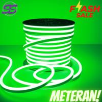 Led selang neon flex / led sign / lampu selang full (import) meteran - Putih