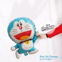 balon foil doraemon mini / balon doraemon body / balon karakter Kecil