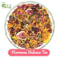 Hormone Balance Tea : Red Clover, Vitex, Lemon Balm, Schisandra fruit