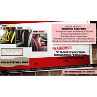 Bahan OSCAR Sarung Jok 2 & 3 Baris Mobil Agya Ayla Jazz Sirion dll