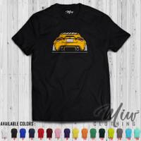 Kaos/Baju Distro/Tshirt Toyota GT86 Yellow