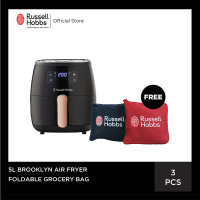 [PO] Russell Hobbs 5L Brooklyn Air Fryer - Free Reusable Bag