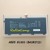 Baterai Asus ROG GL503VD GL703VD FX503VM FX63VD - B41N1711 Original