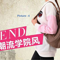 TR5 Tas Ransel Backpack Wanita Kanvas Sekolah Slinbag Cewek import