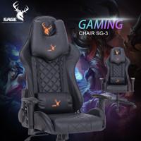 SAGE Premium Quality kursi Gaming game Chair bangku 180 derajat SG-3
