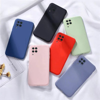 SAMSUNG A12 SOFT CASE MICROFIBER SUEDE SILICONE BACK COVER