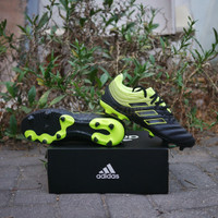 Sepatu Bola Adidas Copa 19.3 FG Black Yellow Original