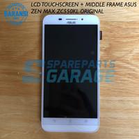 LCD TOUCHSCREEN + MIDDLE FRAME ASUS ZEN MAX ZC550KL ORIGINAL