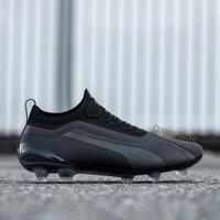 Sepatu Bola Puma One 20.1 FG/AG Black Football Premium Original