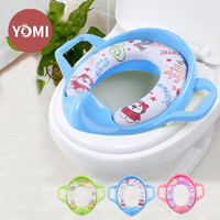 BABY FLOW SOFT POTTY TOILET SEAT RING CLOSET WITH HANDLE Alas Dudukan