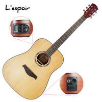 Gitar Akustik Elektrik 41 Roundway Senar String L'espoir L-SP41D-EQ