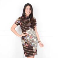 baju dress batik cheongsam congsam shanghai sanghai imlek beril sale