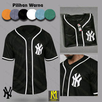 Baju Kaos Jersey Baseball Premium Pria Wanita Aneka Warna